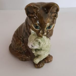 L Briand cat figurine